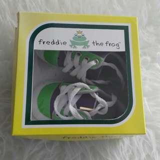 Sepatu bayi Prewalker baby freddy the frog sepatu bayi
