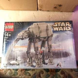 Lego Star Wars 4483 AT-AT Rare Discon Set Brand New Misb Sealed Box