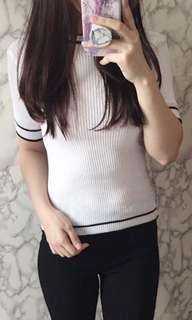 •1.14 line knit shirt