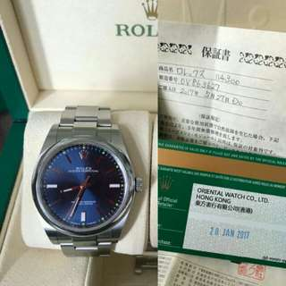 Excl condition sealed rolex watch auth