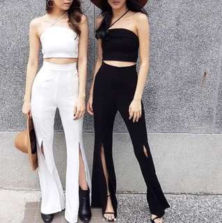 •1.14 cullote cut pants