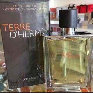Parfume Terre D hermes 100ml (segel)
