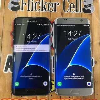 Samsung S7 Edge dual sim black bisa tt alltype hp