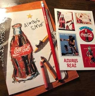[懷舊| 新淨] 可口可樂 Coca Cola 文具