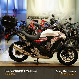 Honda CB400X ABS (Used 2016)
