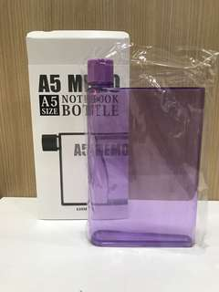 BN A5 size notebook bottle