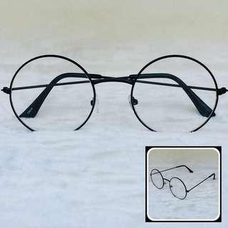 Harry Potter Style Eyeglasses (Black)