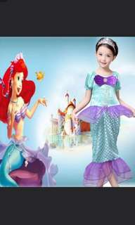 Mermaid costume dress