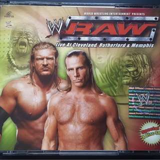 RAW Live At Cleveland 4 Disc VCD