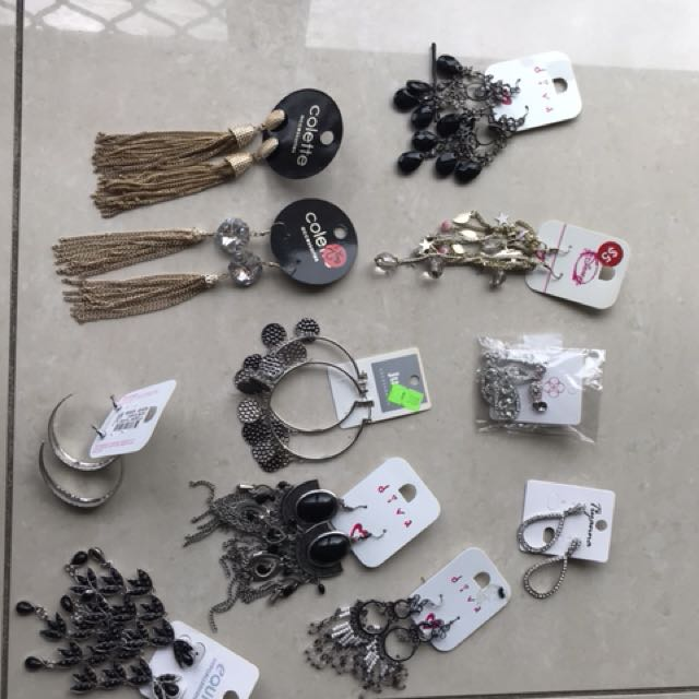 11 new pairs of earrings