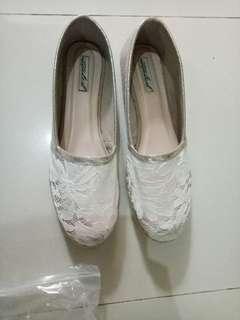 Sepatu ittaherl kombinasi brukakat with