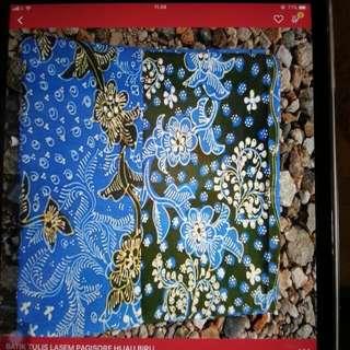 Batik Tulis Lasem Pagi Sore