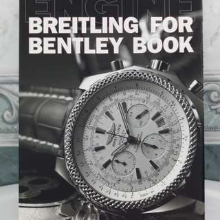 Japan Breitling For Bentley Book