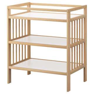 Ikea Gulliver Changing Table (Solid wood) with Delivery
