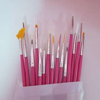 Nailart Brushes 1 Set Art