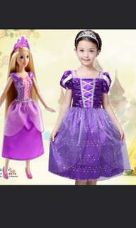 Rapunzel costume dress