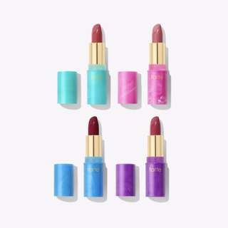 tarte limited edition mermaid kisses lipstick set