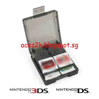 [BN] 3DS / DS 16-in-1 Cartridge Holder (Brand New)
