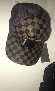 Louis Vuitton hat (not real)