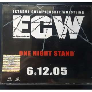 ECW One Night Stand 2005 4 disc VCD