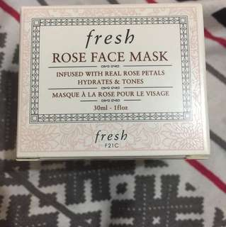 Fresh (Rose face mask)
