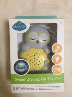 Cloud b baby soother- owl