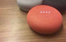 Google Home Mini (Coral Red)