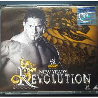 New Year Revolution 4 Disc VCD