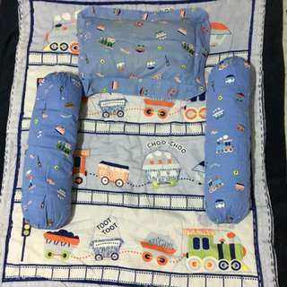 Train Set Pillow Case & Comforter
