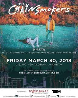 The Chainsmokers Show Jiexpo 2018