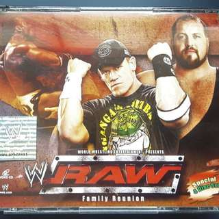 RAW Family Reunion 4 Disc VCD
