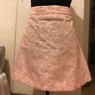 Peach Skirt from Topshop