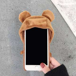 New hoodies cute doll case
