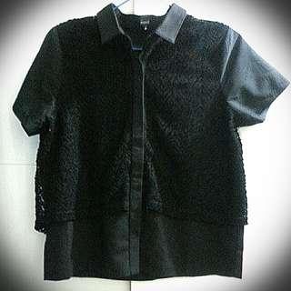 Rococo 黑色短袖衫