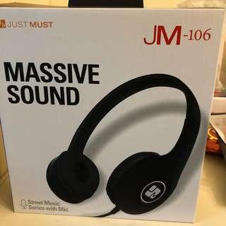 Just Must Headphones JM-106