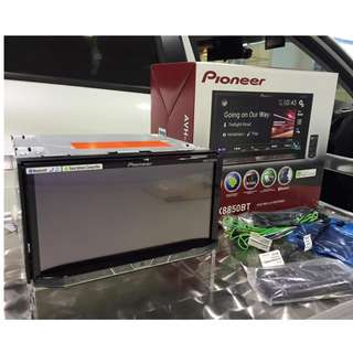 Pioneer AVH-x8850bt Dual USB Android Auto Apple Car Play 38