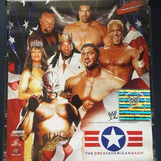 The Great American Bash 2006 3 Disc VCD