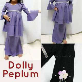 DOLLY PEPLUM