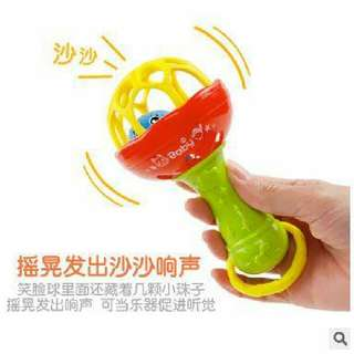 BABY HANDBELL WITH TEETHER