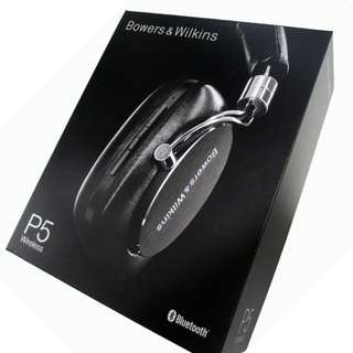 Bowers & Wilkins B&W P5 Wireless Headphones