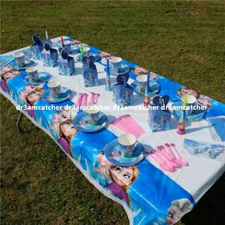 Frozen party set for 10 (ready stock)