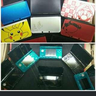 Used 2DS/3DS/3DSXL/N3DSXL/PSV
