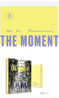 [PO] JBJ - 1st  Photobook The Moment with Poster in Tube