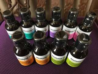 Daiso Massage Oil
