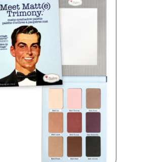 9 Color The Balm Eyeshadow palette