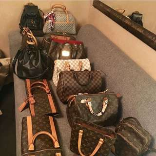 101% authentic LV bags