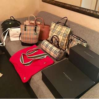 101% authentic burberry, michael kors bags