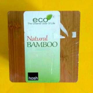 Bamboo Coaster Set