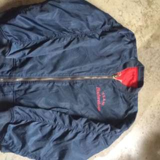 Budweiser bomber jacket