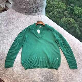 Hermès 綠色羊毛衣